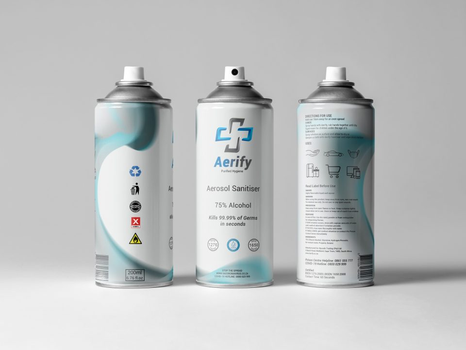 Aerify Logo & Product Design